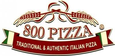 0800 Pizza Logo