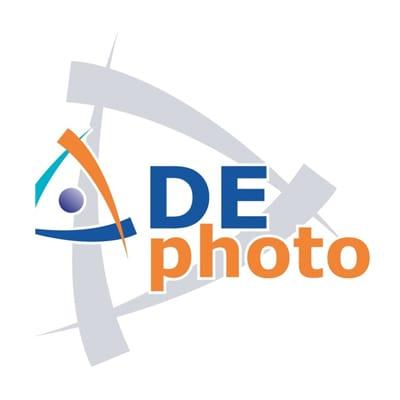 DE Photo Logo
