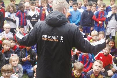We make footballers