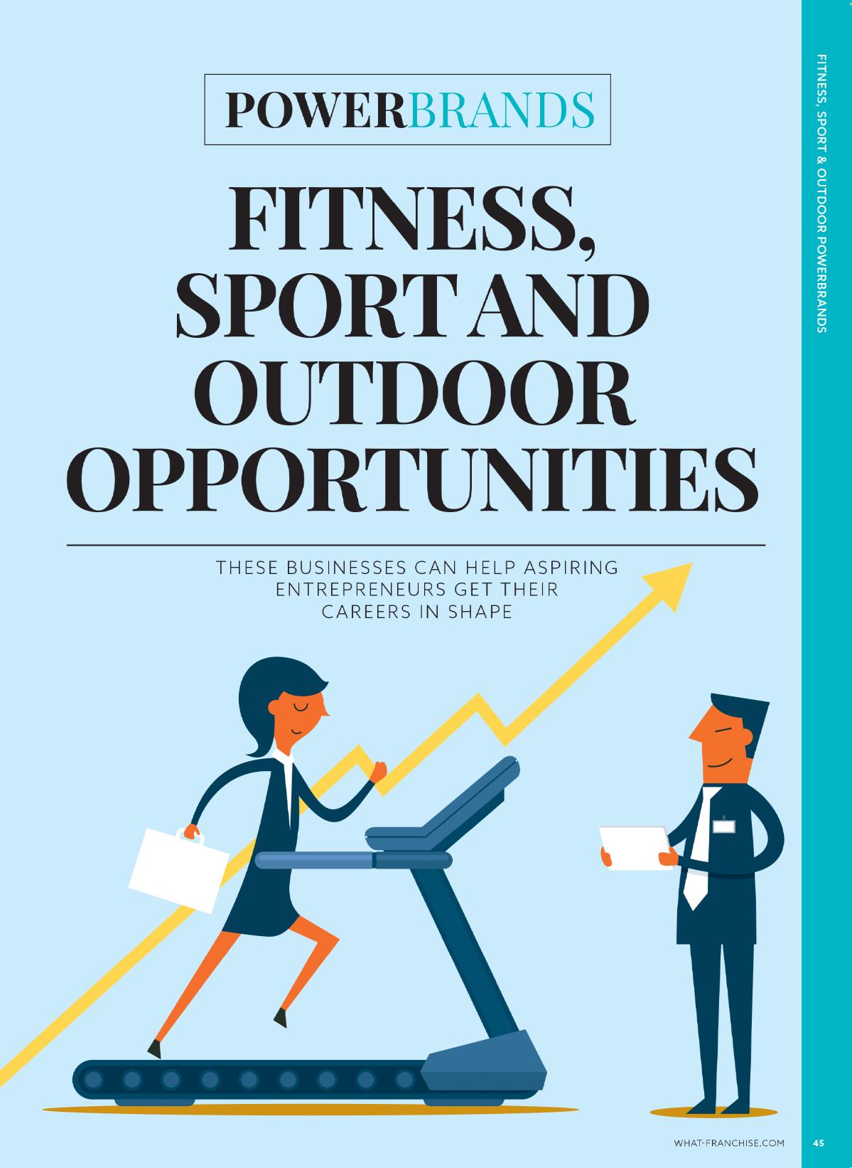 Powerbrands: Fitness, Sport and Outdoor opportunities